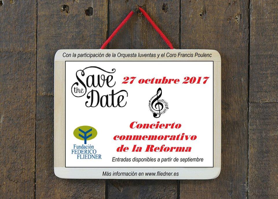 27 de octubre. Concierto Conmemorativo de la Reforma